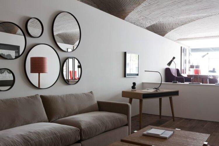 les miroirs décoratifs du design intérieur