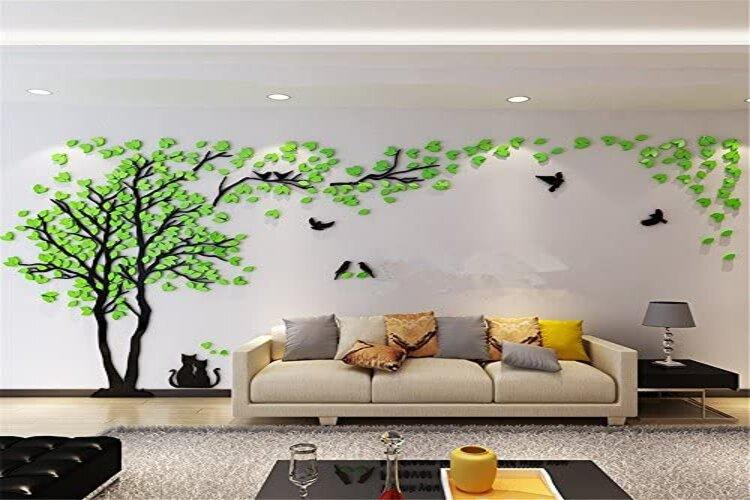 autocollant mural chambre