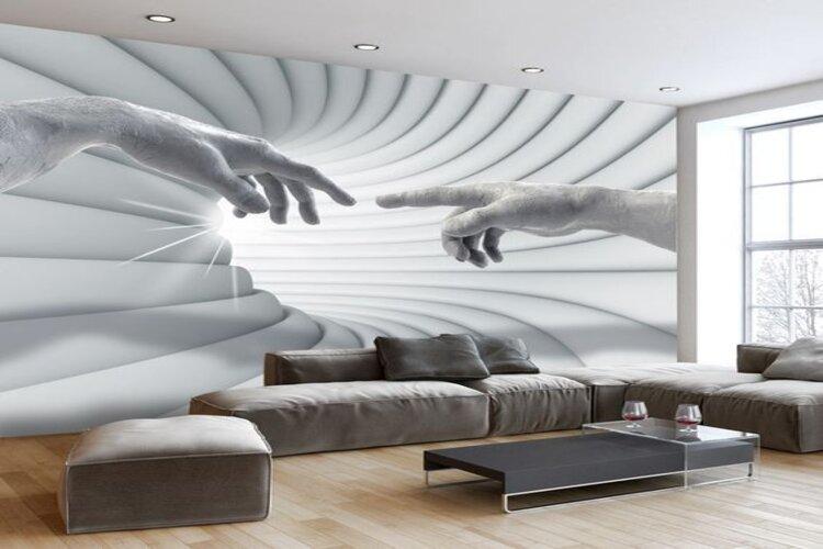 papier peint décoratif salon