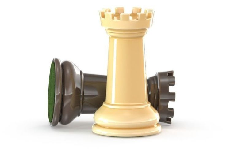 pièce d'un jeu d'échecs